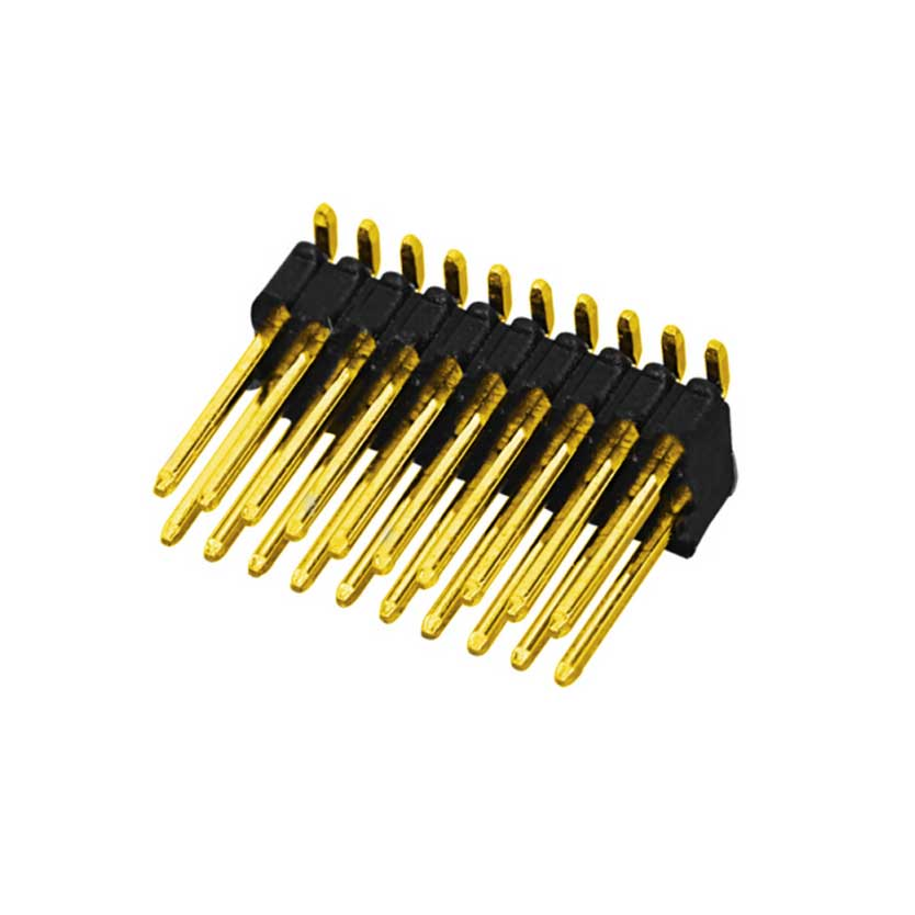 0.8mm Pin Header H=1.38mm Double Row SMT Type
