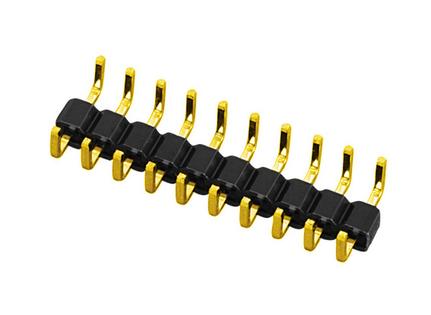 PH2.0mm Pin Header H=1.0mm Single Row Single Body Centipede Feet Type Pin Connector