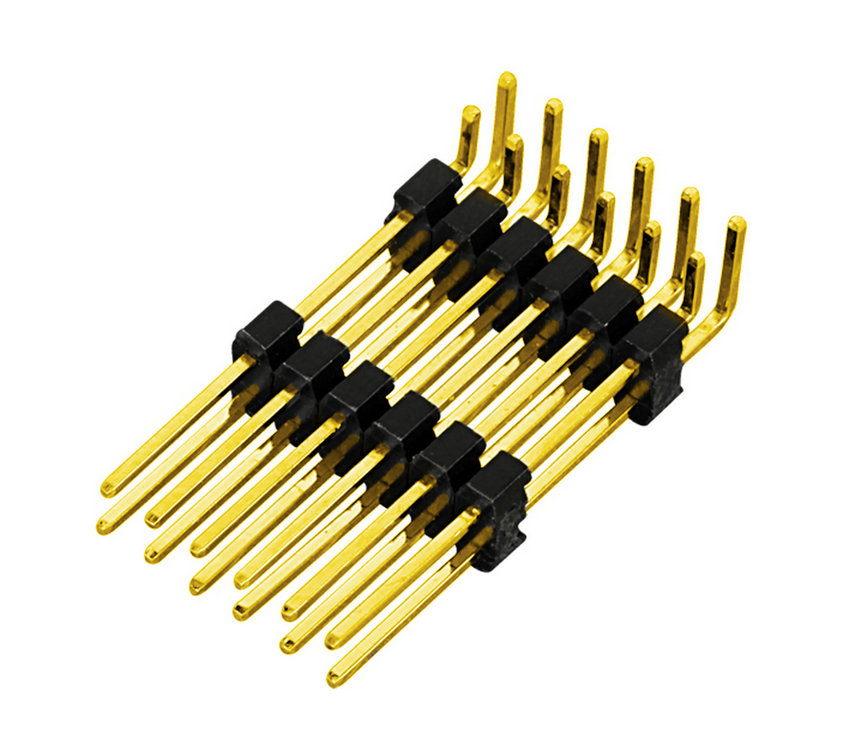 PH2.0mm Pin Header Dual Row Dual Body Right Angle Type Board to Board Connector Pin Connector