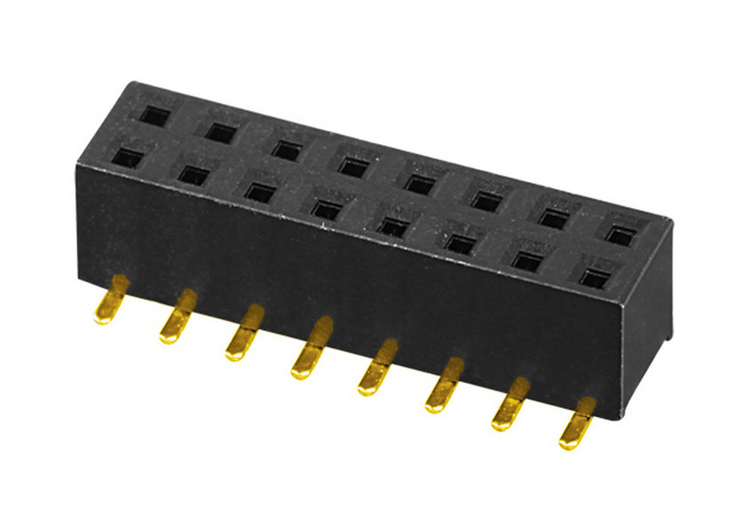 PH2.0mm H=2.0,4.0,4.3,4.6,7.2mm Female Header U-type Dual Row SMT Type Board to Board Connector