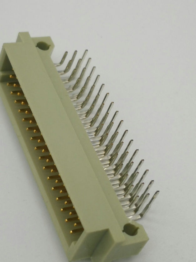 PH2.54mm DIN 41612 Male Threel-row Right Angle Type