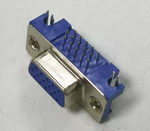 D-sub 15P Female With harpoon Straight locks001