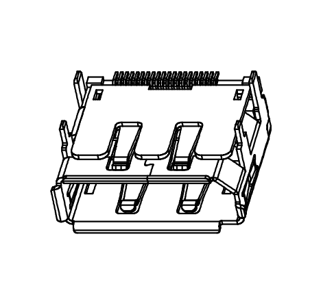 Display port  SMT Type