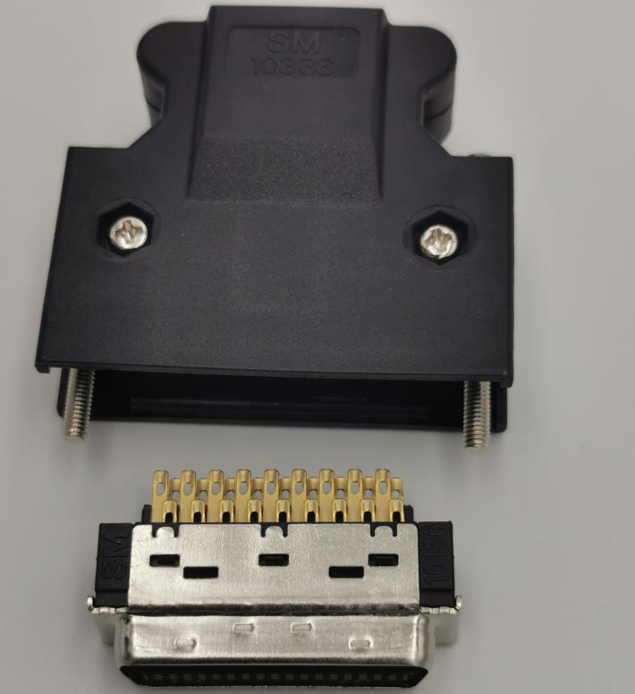 1.27mm SCSI 14/20/26/36/50P Male Soldering Type